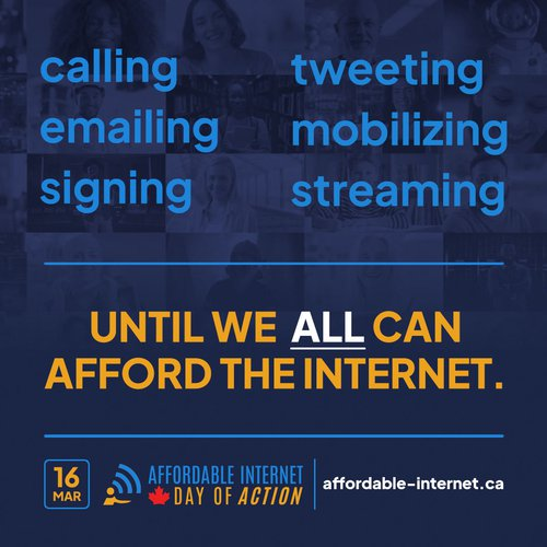 Newsletter: Affordable Internet Day of Action (plus a few other updates)
