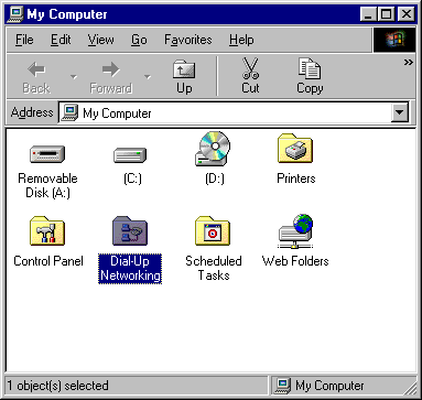 Dial-up Connection for Windows 98